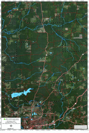 Caney Lake Louisiana Map http://www.apexmappingsolutions.com/caneyrd.html